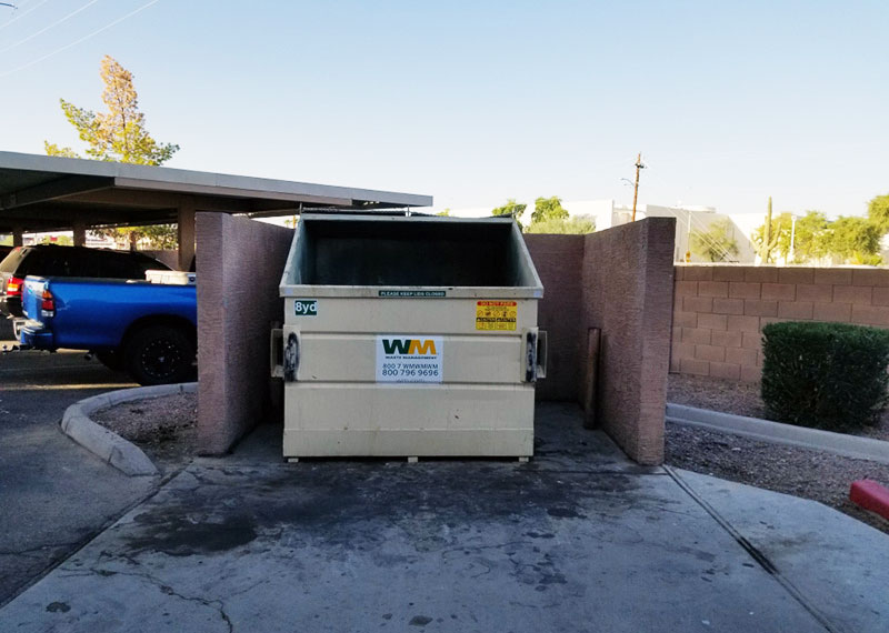 Waste Consolidators, Inc. One Time Clean-Up Services for Propeties in Phoenix, AZ, Houston, Austin and San Antonio, TX