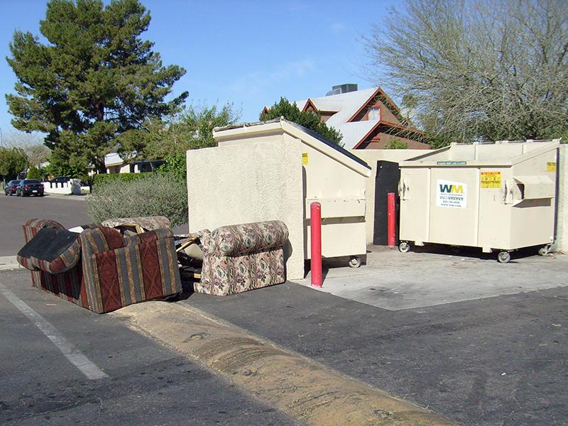 Bulk Item Pickup by Waste Consolidators, Inc for Phoenix, AZ, Houston, Austin and San Antonio, TX